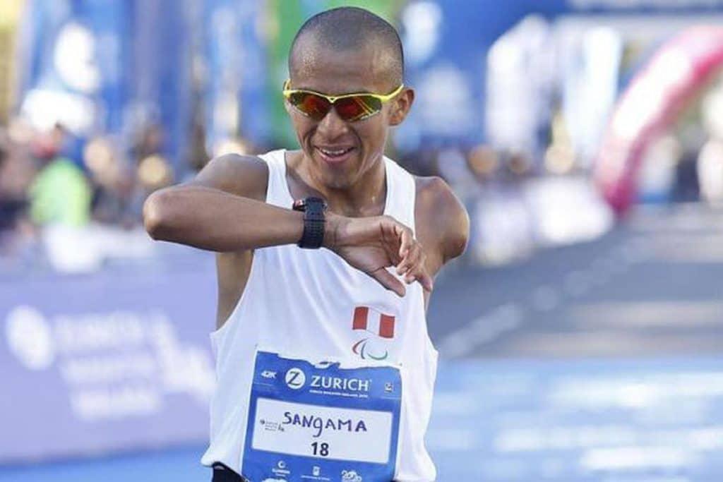 Tokio 2020: Carlos Sangama clasifica a Juegos Paralímpicos