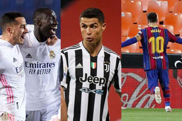 Real Madrid, Barcelona y Juventus invitados por la UEFA para jugar la Champions