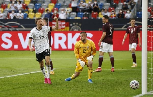 ¡Festival de goles! Alemania arrolla en amistoso a letonia (7-1)