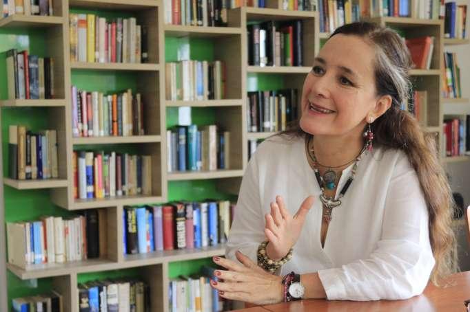 Margarita Laso y su faunario ecuatorial