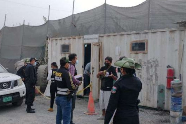 Chosica: PNP capturó a 15 personas que se dedicaban a la minería ilegal no metálica