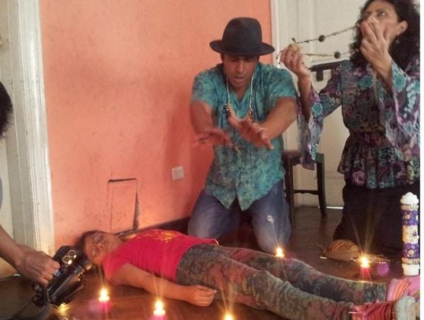 Estrenan película peruana 'La mujer de blanco'