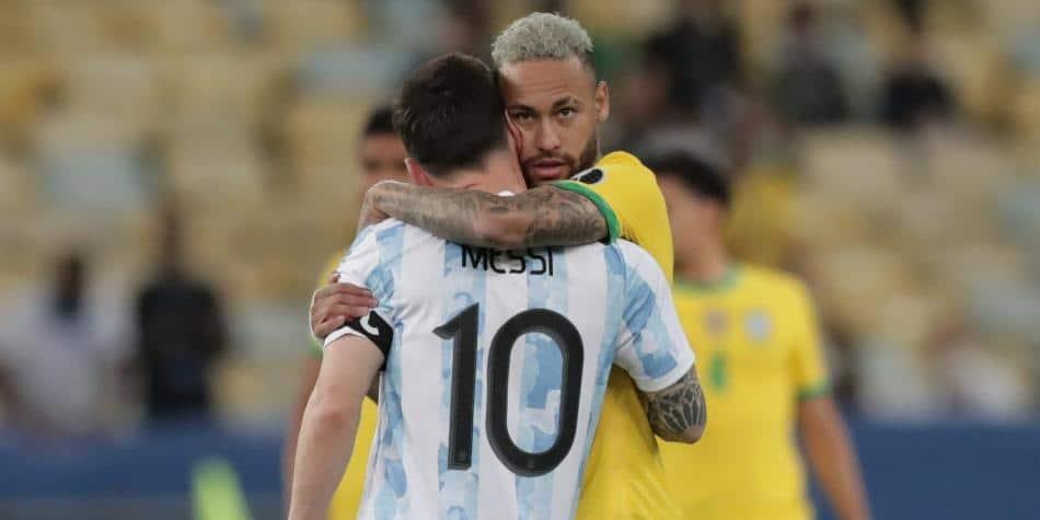 Neymar felicita a Messi tras perder la Copa América: «Odio perder pero disfruta tu título»