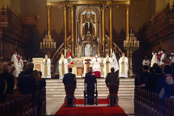 Arzobispo de Lima, Carlos Castillo, pidió a las nuevas autoridades superar divisiones por el bien del Perú
