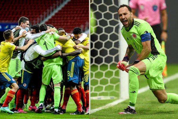 Colombia venció por penales a Uruguay (4-2) y avanzó a las semifinales de la Copa América