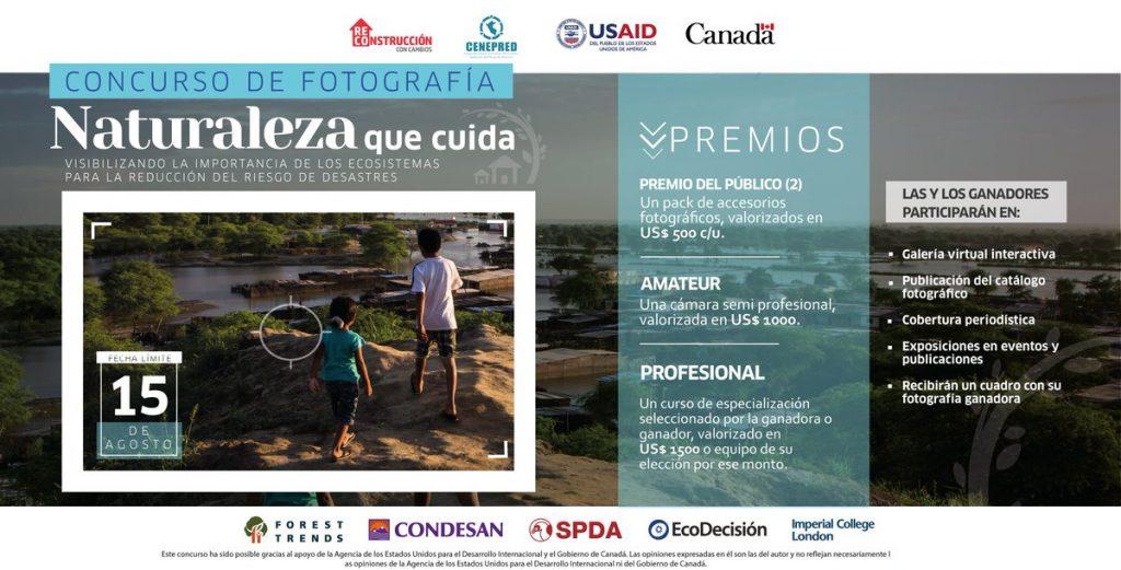 "Lanzan concurso fotográfico «Naturaleza que cuida"""