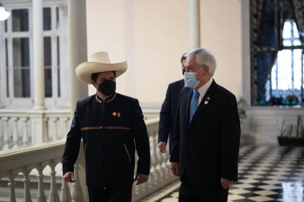 Sebastián Piñera: «Si le va bien al presidente Pedro Castillo, le va bien al Perú»