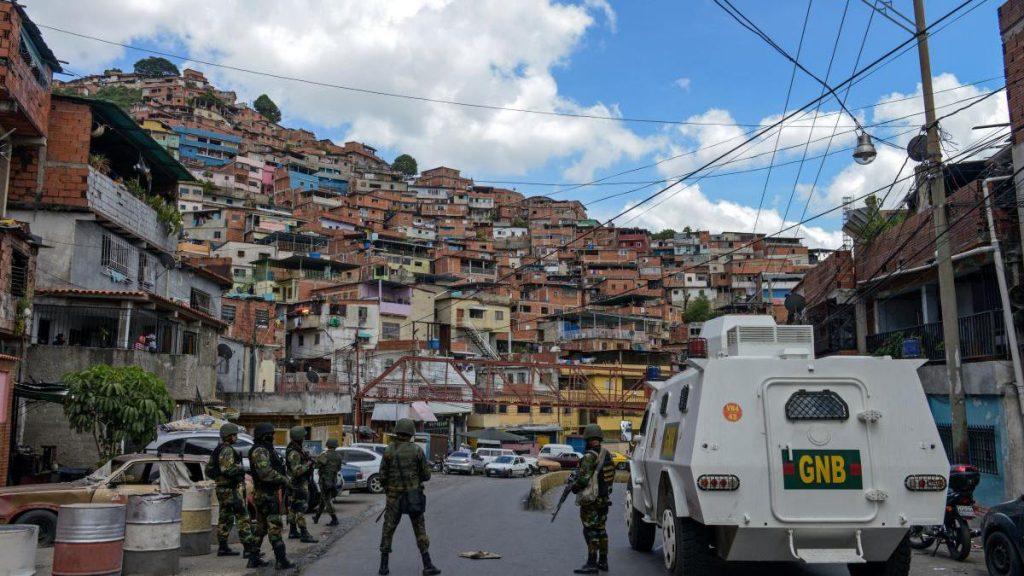 Barriadas tomadas por delincuentes en Caracas