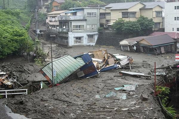 Japón: lluvias récord dejan más de 20 desaparecidos