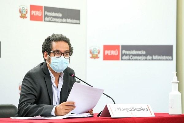 José Luis Chicoma anunció que se destinarán S/ 635 millones para construcción de mercados de abastos en regiones