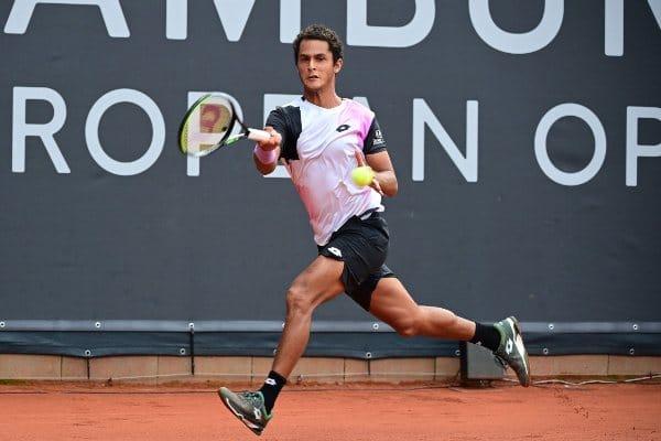 Juan Pablo Varillas quedó eliminado del ATP 500 de Hamburgo