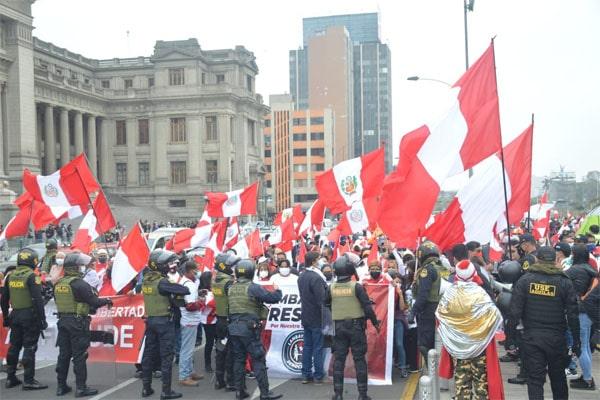 Keiko Fujimori: así se desarrolla la nueva marcha «Respeta mi voto» | FOTOS
