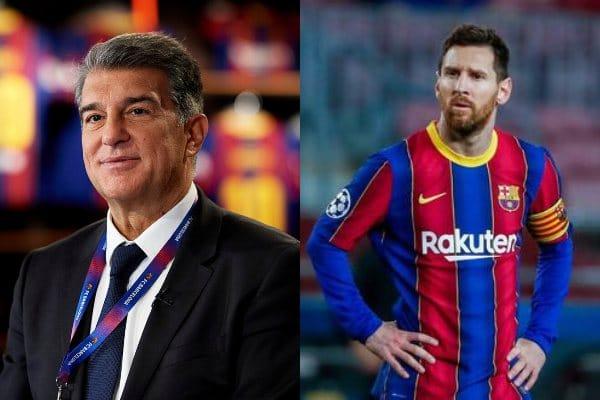 Joan Laporta sobre renovación de Lionel Messi: «Se está trabajo bien desde el club. Requiere paciencia, habilidad y algunos malabares»