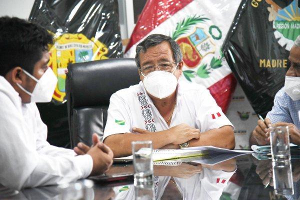 Gobernador de Madre de Dios espera trabajar en conjunto con el presidente Pedro Castillo