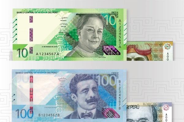 Banco Central de Reserva pone en circulación nuevos billetes de S/ 10 y S/ 100