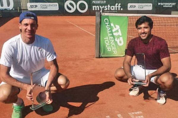 Peruano Sergio Galdos campeonó en el mundial de dobles ATP Challenger 125 en Austria