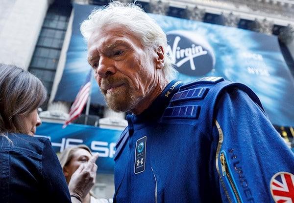 Richard Branson: empresario británico es el primer multimillonario en llegar al espacio