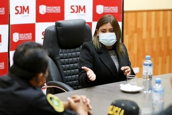 SJM: Dictan 36 meses de prisión preventiva contra exalcadesa