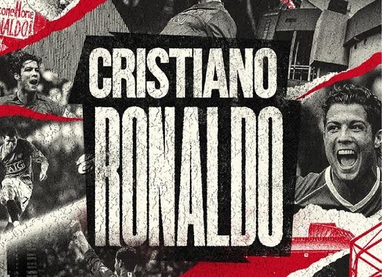 Manchester United confirma vuelta de Cristiano Ronaldo: «Bienvenido a casa, rey»