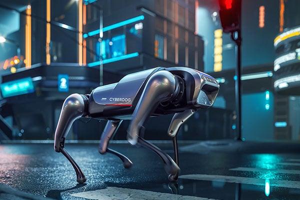 CyberDog: Inteligencia artificial en una mascota digital