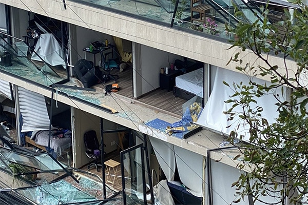 México: más de 20 heridos tras explosión en edificio