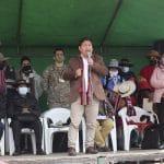 Guido Bellido se reunió con pobladores de Chumbivilcas y puso fin al paro contra la mina Las Bambas