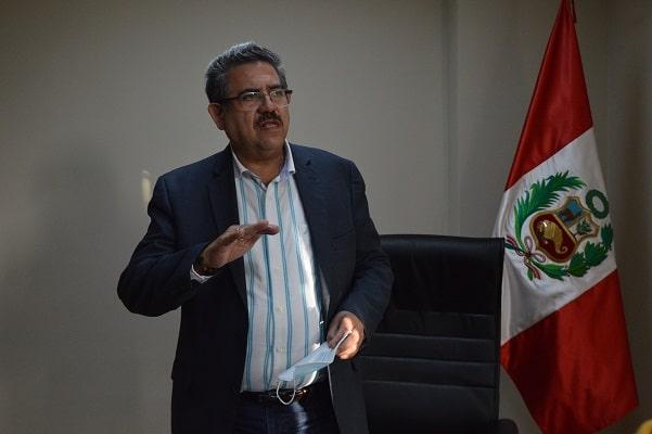 Manuel Merino: «El Congreso debe actuar rápido para que el comunismo no haga lo que quiera con el país»