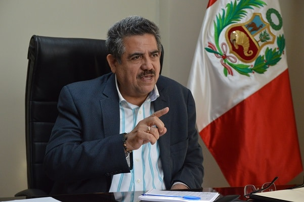 Manuel Merino fue a declarar a la Fiscalía por caso Inti Sotelo y Bryan Pintado