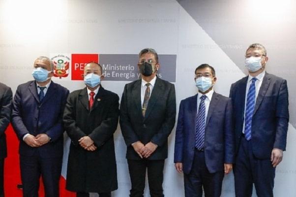 Ministro Merino y ejecutivos chinos dialogaron sobre el nuevo enfoque de inversión privada en el Perú
