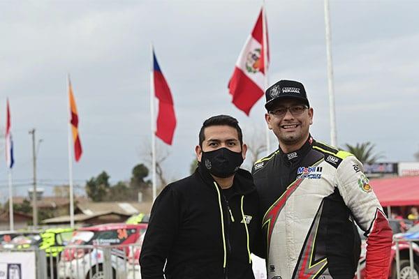 Eduardo Castro y Nicolás Fuchs: «Hombres de rally»