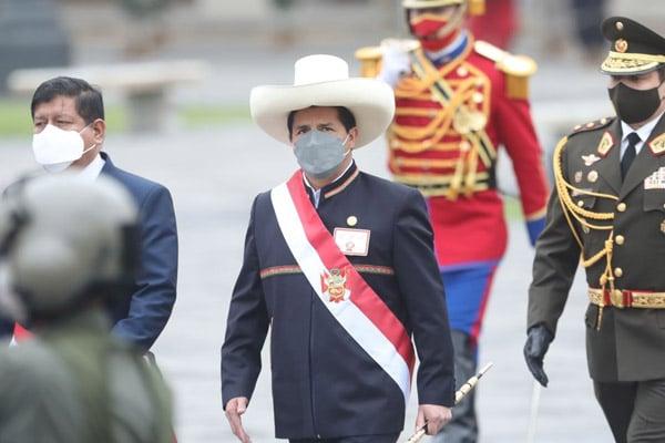 Presidente Pedro Castillo inicia hoy gira por México y EE.UU.