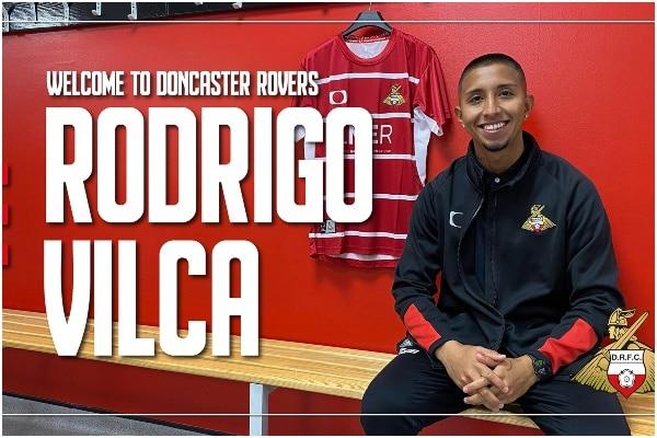 Rodrigo Vilca es nuevo jugador del Doncaster Rovers de Inglaterra
