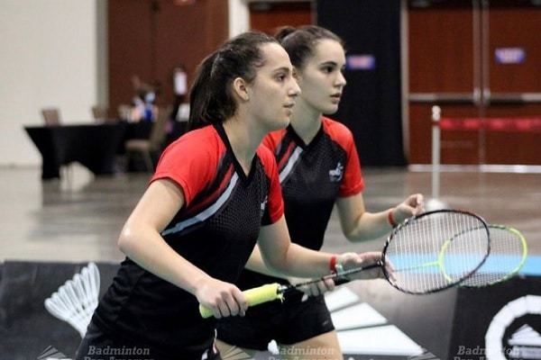 Rafaela y Fernanda, campeonas de bádminton juvenil