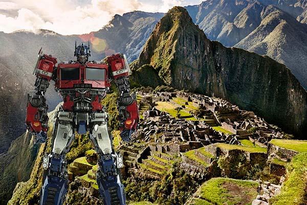 Transformers en Machu Picchu: se inicia el rodaje de la película