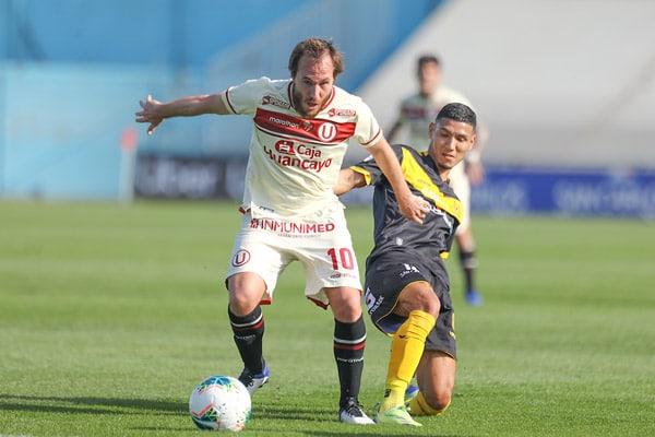 Universitario de Deportes logró el empate ante Cantolao en último minuto