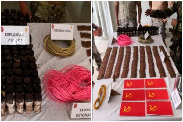 VRAEM: PNP encuentra material explosivo y propaganda subversiva