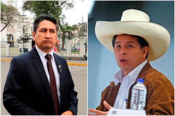 Vladimir Cerrón y Pedro Castillo se enfrentan por el gabinete Bellido