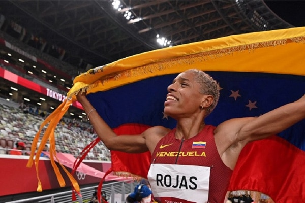 Tokio 2020: Yulimar Rojas, deportista venezolana, superó récord mundial