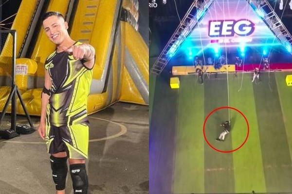 Esto es Guerra: Elías Montalvo sufrió dura caída tras falla de juego de 15 metros
