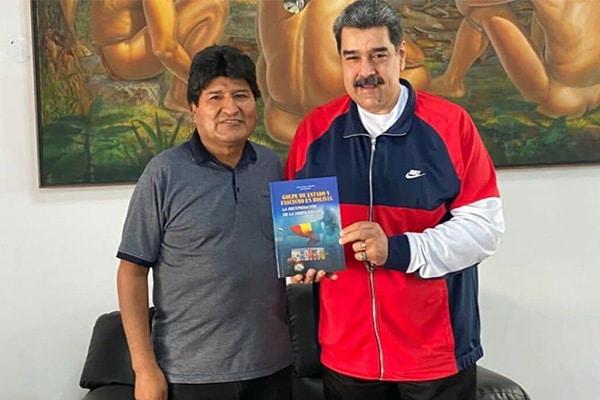 Evo Morales se pasea por Cuba y Venezuela