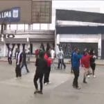 Hinchas de Alianza Lima se enfrentaron en las afueras de Matute