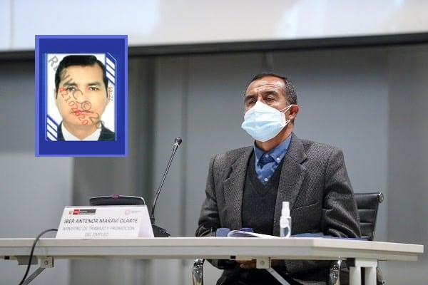 Íber Maraví: renunció funcionario que acreditó experiencia con firma de su esposa