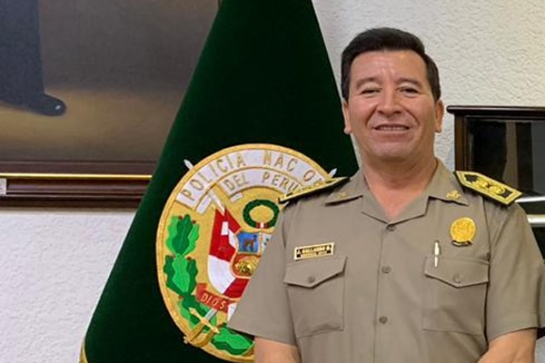 Javier Gallardo es designado como nuevo comandante general de la PNP