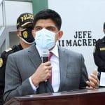 Ministro Carrasco dispone investigar «a la presunta organización criminal 'La Resistencia'»