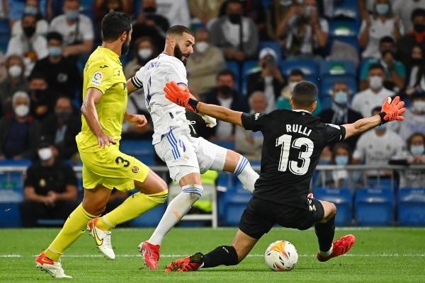 Real Madrid igualó sin goles ante Villarreal por la Liga de España