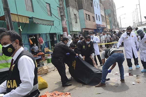 San Martín de Porres: asesinan a mujer cuando jugaba vóley