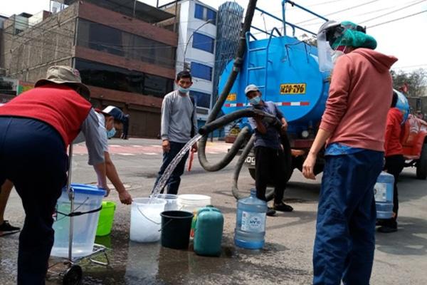 Sedapal resolverá falta de agua recién en noviembre