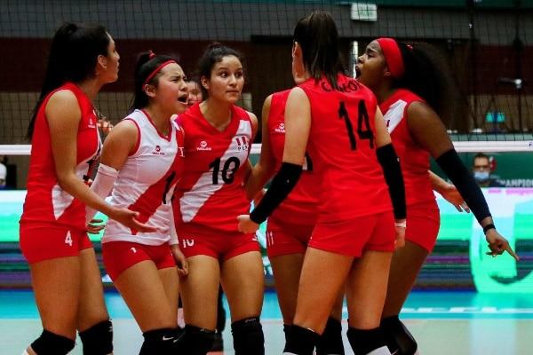 ¡GRAN DEBUT! Perú venció 3-1 a Egipto en el Mundial de Voleibol Femenino Sub 18