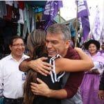 Ministerio Público: activista morada sale de Oficina de Peritajes