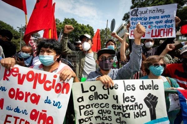 México: se producen enfrentamientos por llegada de Miguel Díaz-Canel a embajada de Cuba